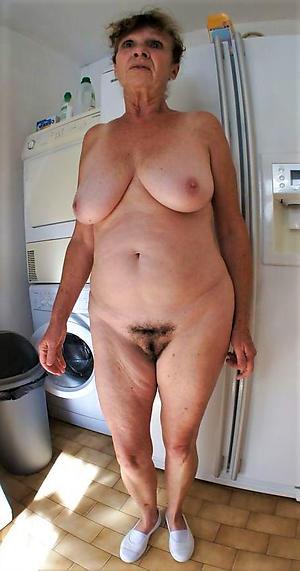 granny vagina posing nude