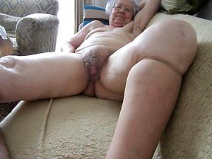 naughty granny masturbates