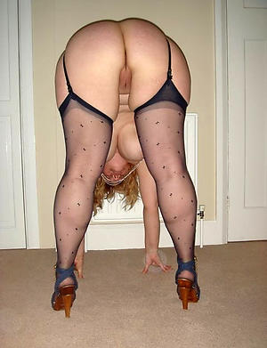 porn pics of mature women prevalent stockings and heels
