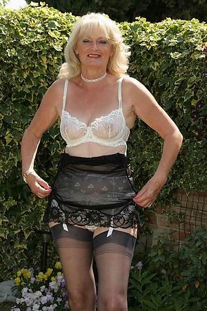 grannies in lingerie posing nude