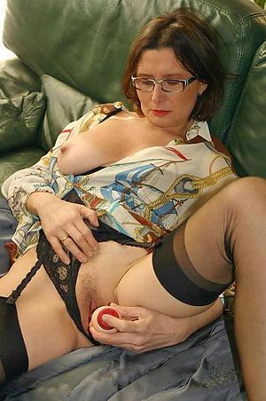 naughty granny masturbating