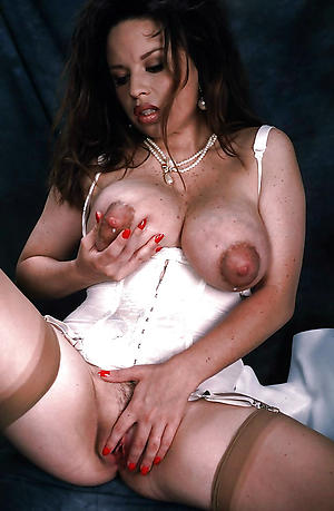 nice puffy nipples mature