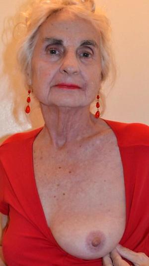 nude xxx elderly woman