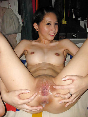 single asian women posing undress