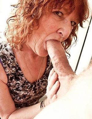 older women giving blowjob amateur pics