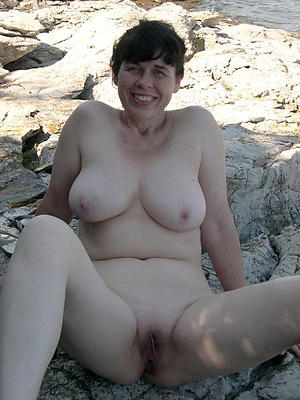 nude older brunette women