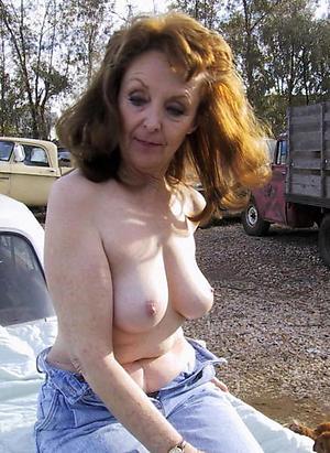 naughty mature brunette women