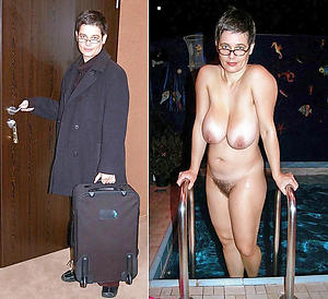 nice gentry dressed and undressed