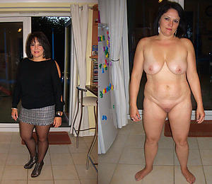 naughty ladies dressed and undressed