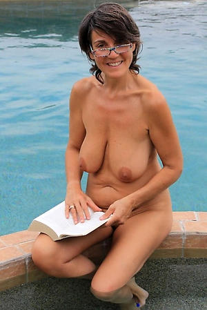 grannies far glasses love posing nude