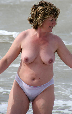 crazy granny nude beach