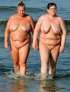 naughty granny nude beach