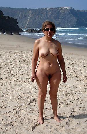 busty granny nude beach