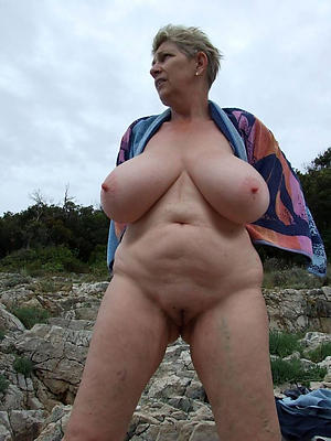 grannies at get under one's beach private pics