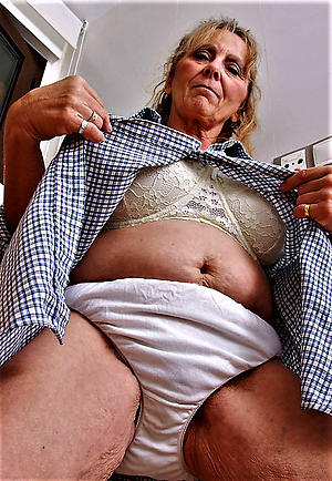 naughty grannys not far from panties
