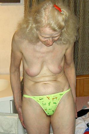horny sexy granny undershorts