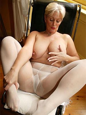 real women not far from pantyhose posing minimal