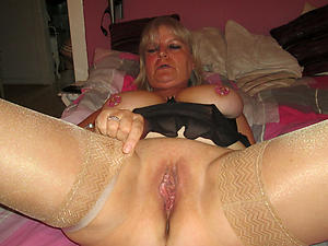 granny carrying-on with pussy love posing nude