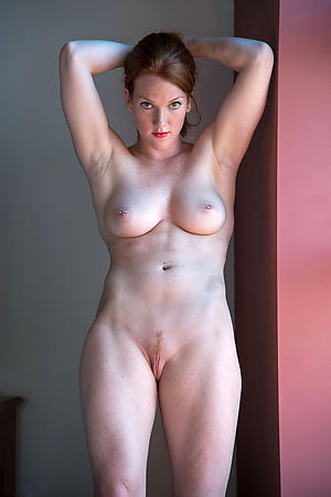 sexy redhead hair granny with fat Bristols