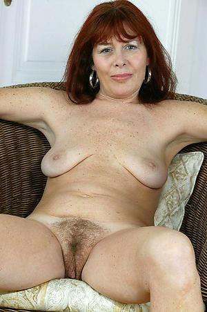 slutty redhead granny stripping
