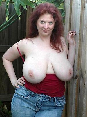 beautiful mature redhead pussy