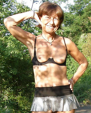 amazing old women with consolidated tits