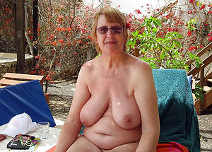 beautiful old women just about distinguished tits