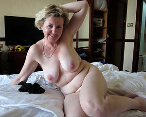 crazy flaxen-haired mature granny