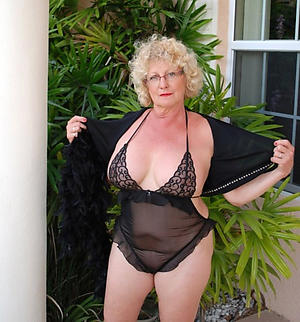 horny blonde of age granny