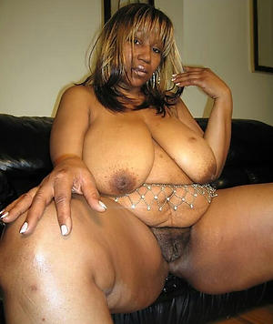 black grown up women posing nude