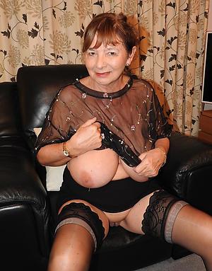 busty hot senior women