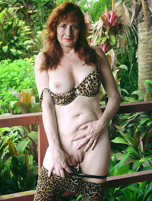 accurate mature redhead wife
