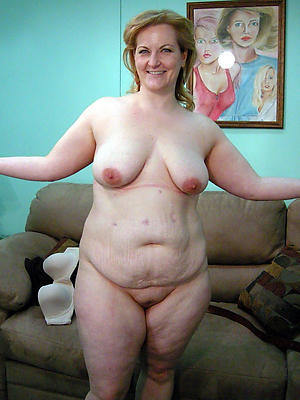 bbw undecorated grown up posing basic