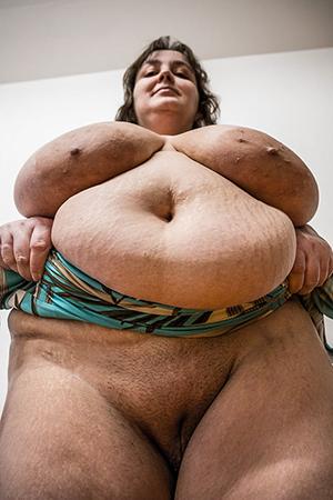 xxx fat crestfallen granny