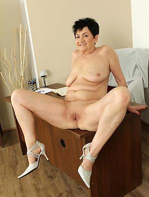 conscientious grannies in high heels nude pics