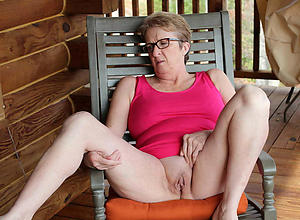 staggering hairy granny pussy porn videotape