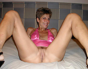 old woman vagina love posing denuded