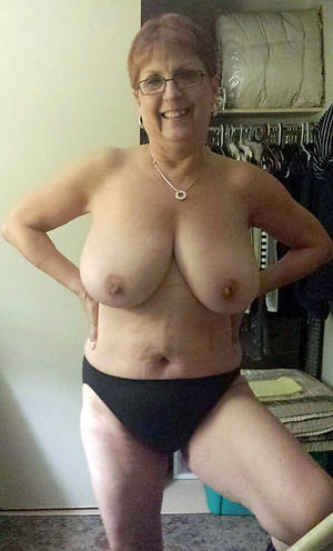grannies with big boobs posing unadorned