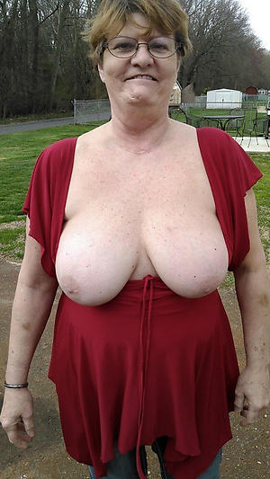 slutty saggy granny boobs nude pics