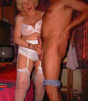 grannie stockings private pics