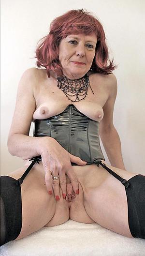 granny in lingerie private pics
