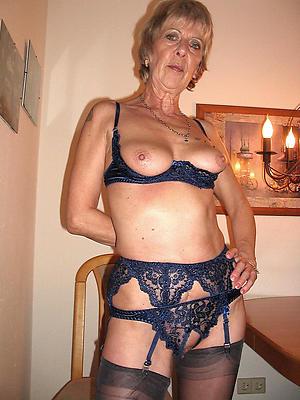 barren granny in lingerie porn pic