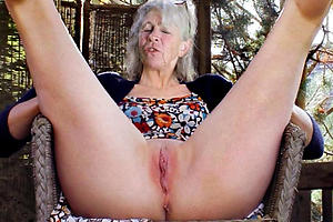 shaved granny pussy amateur pics