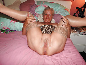 beautiful granny with shaved pussy porn pic