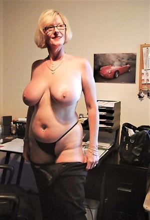 naked older women boobs photograph