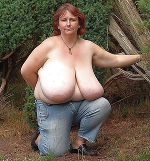 older women with big boobs posing nude