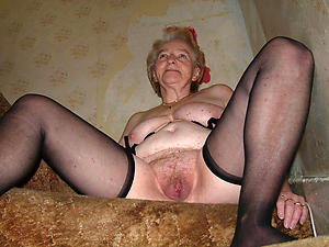 very old women pussy posing nude