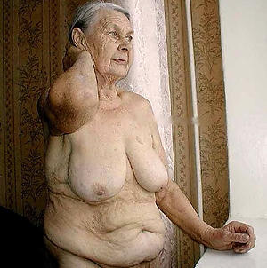 astounding naked very old grannies