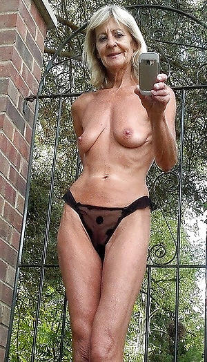 older women pussy selfshot photo