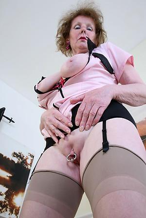 nude older women in stockings